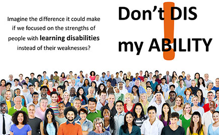 October is Learning Disabilities Awareness month
